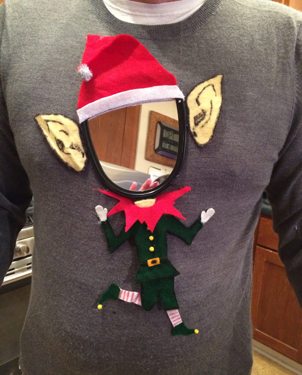 Office Christmas Party Ugly Sweater