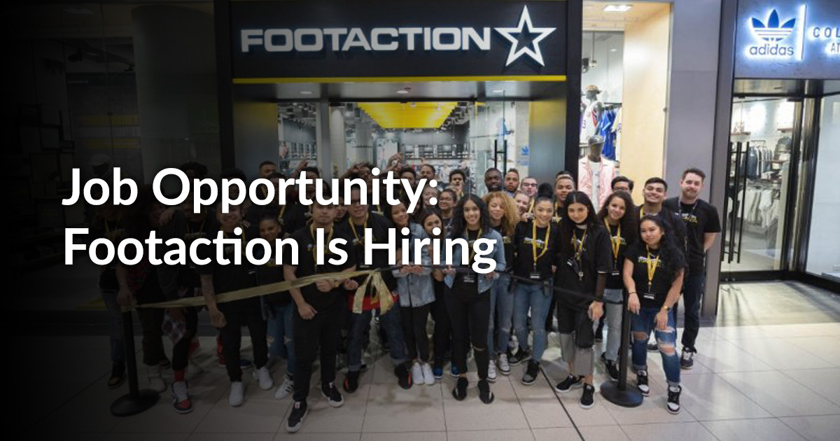Job Opportunity Footaction Is Hiring Employmenthub
