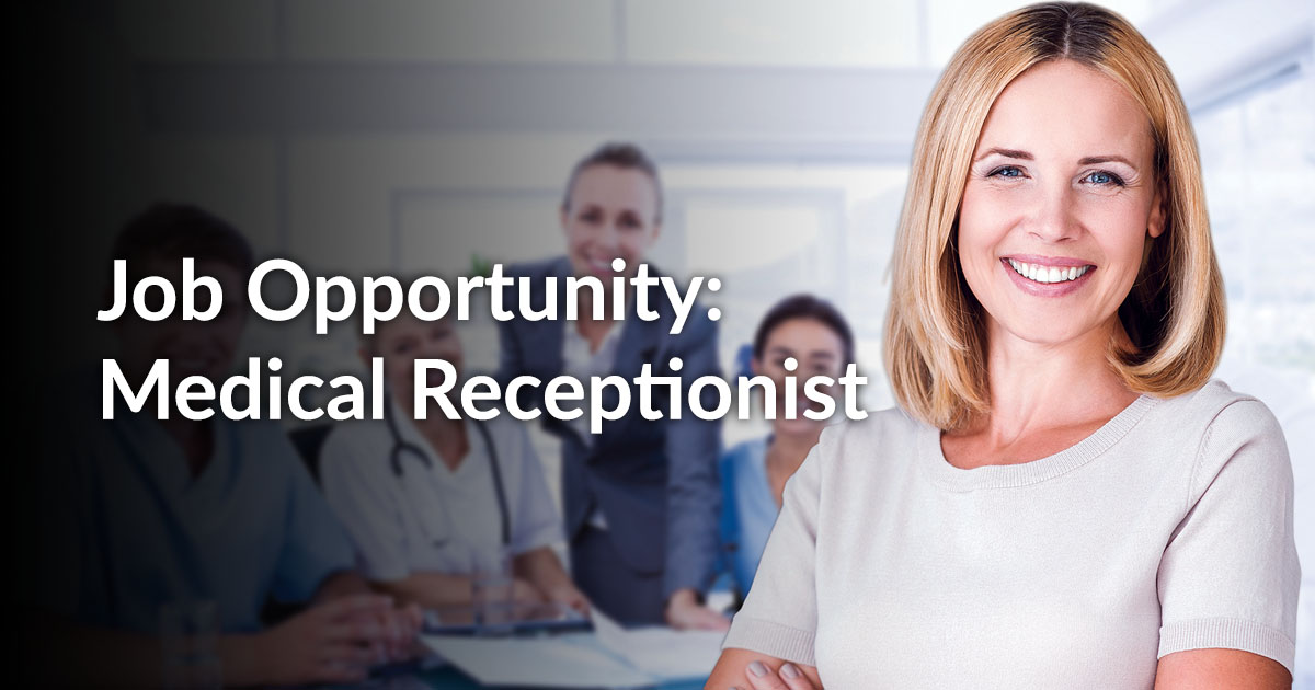 Medical Receptionist Jobs, Careers & Recruitment - totaljobs