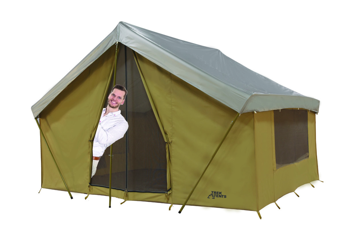 Put up a tent for yourself